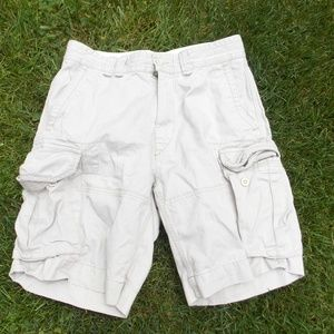 Polo by Ralph Lauren Mens Khaki Cargo Shorts 32